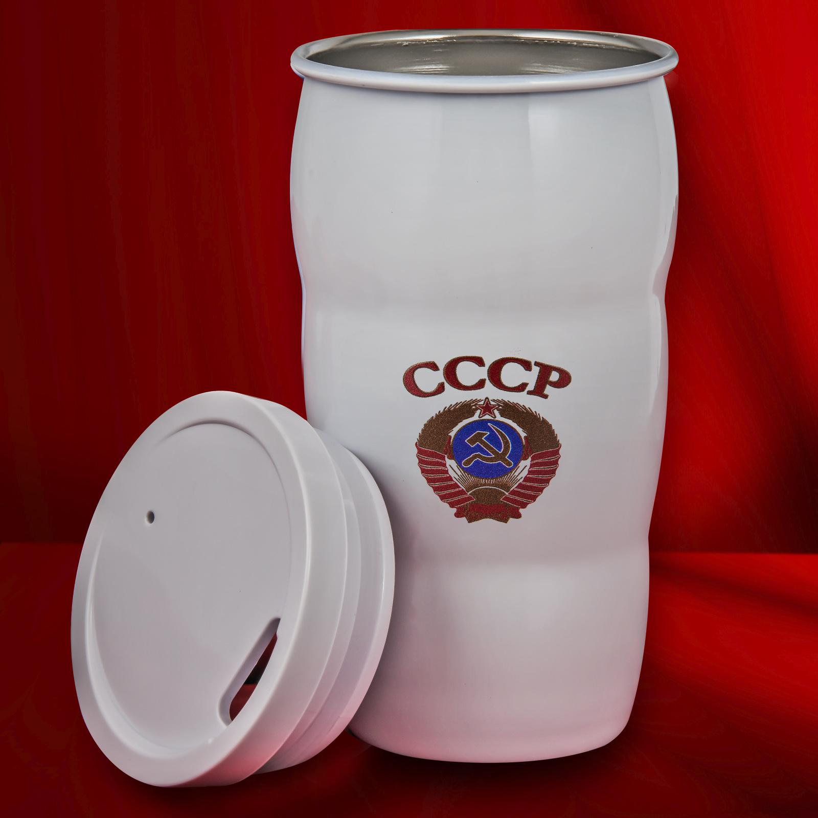 Термокружка с гербом СССР