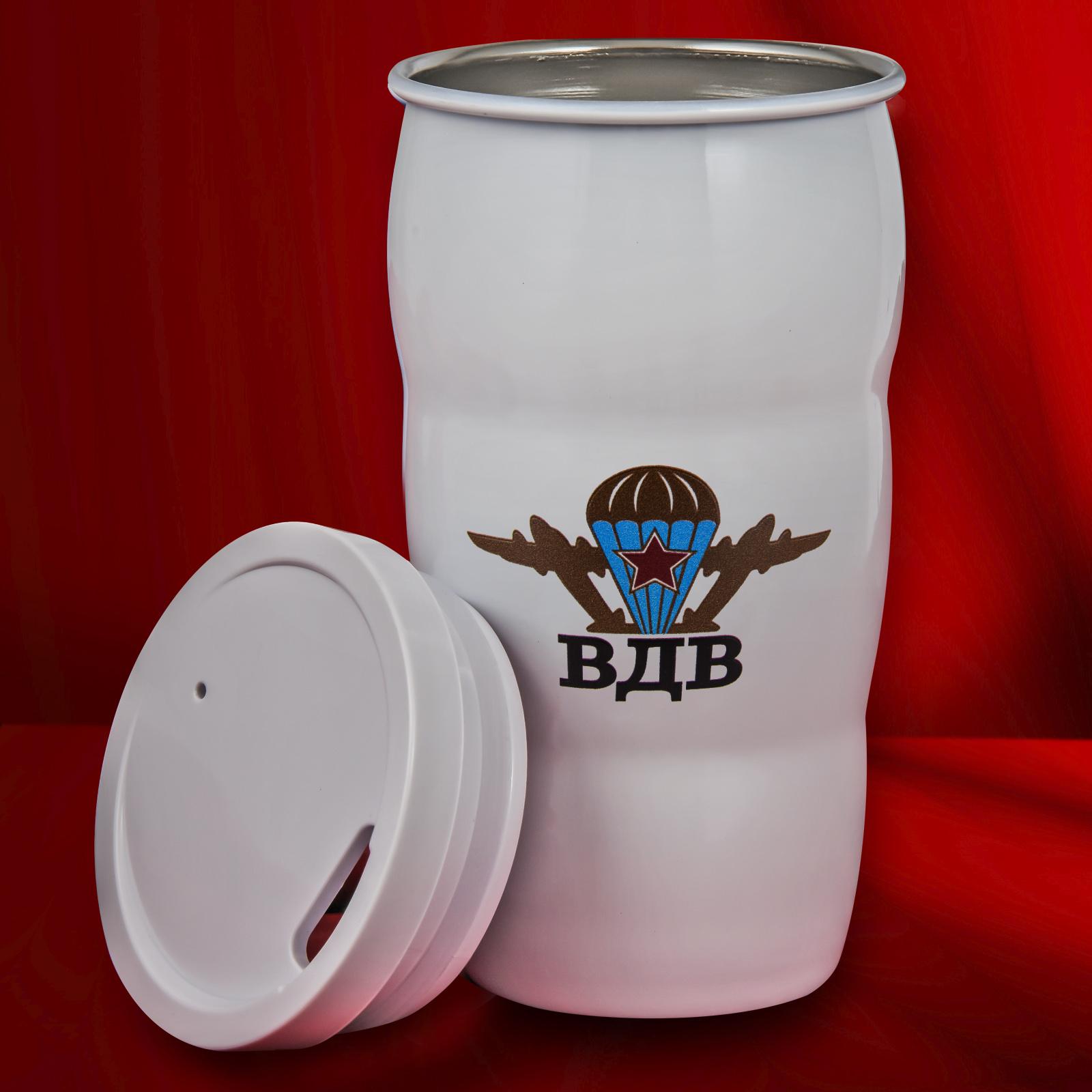 Термостойкий стакан-подарок с символикой ВДВ