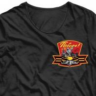 Термонаклейка на футболку Победа