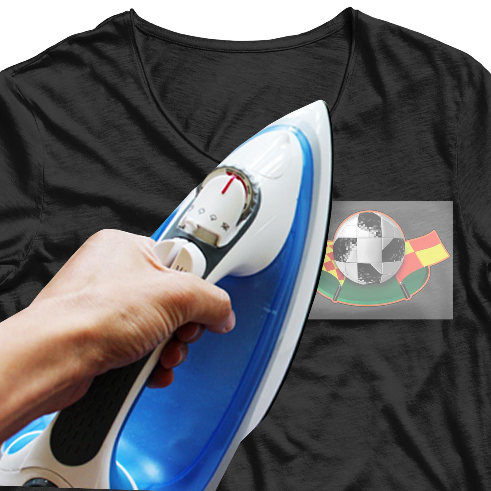 Термонаклейка культового мяча FIFA 2018.