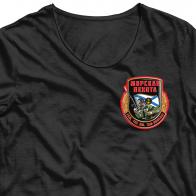 Термонаклейка на футболку Морская пехота.
