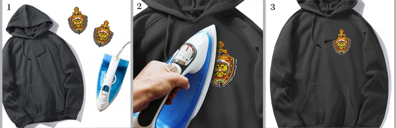 Качественная и недорогая термонашивка на одежду МВД
