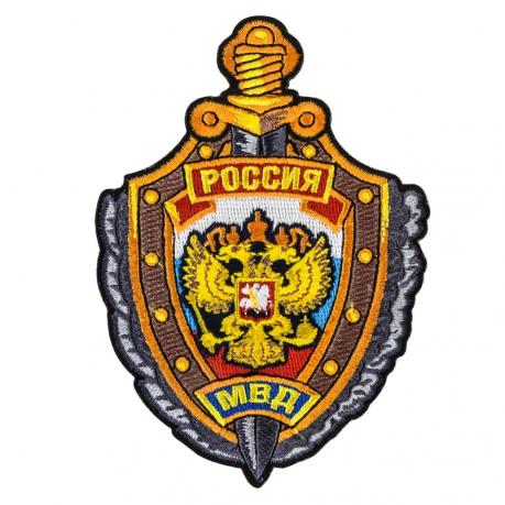 """Термонашивка на одежду """"МВД России"""""""