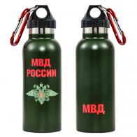 Термос бутылка «МВД»