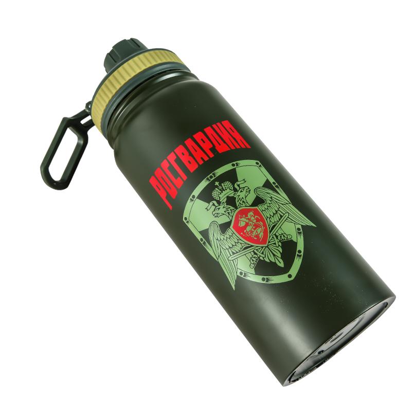 Купить термос «Гвардия России» в виде бутылки