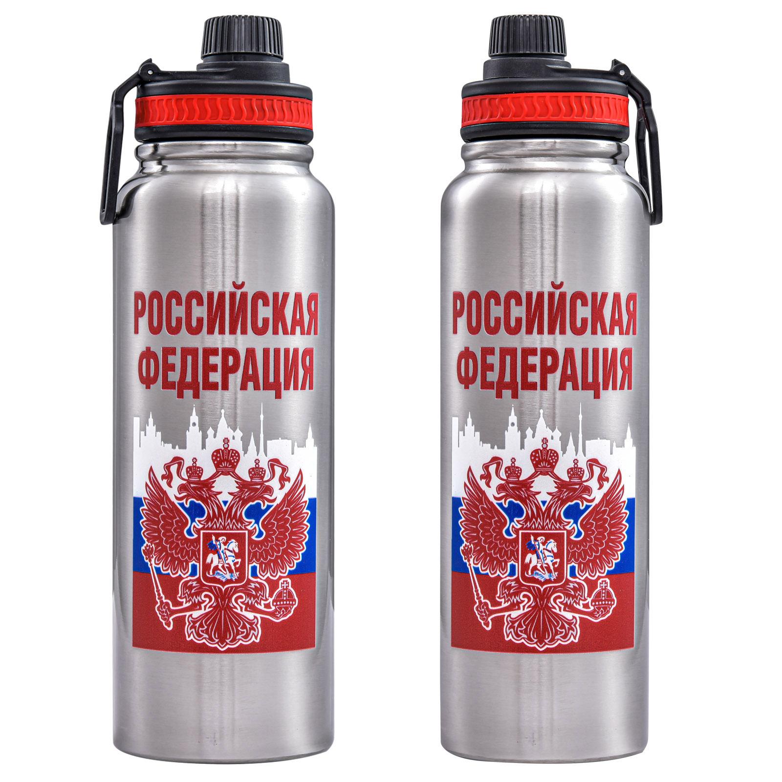 Термос Россия на 1,1 литра