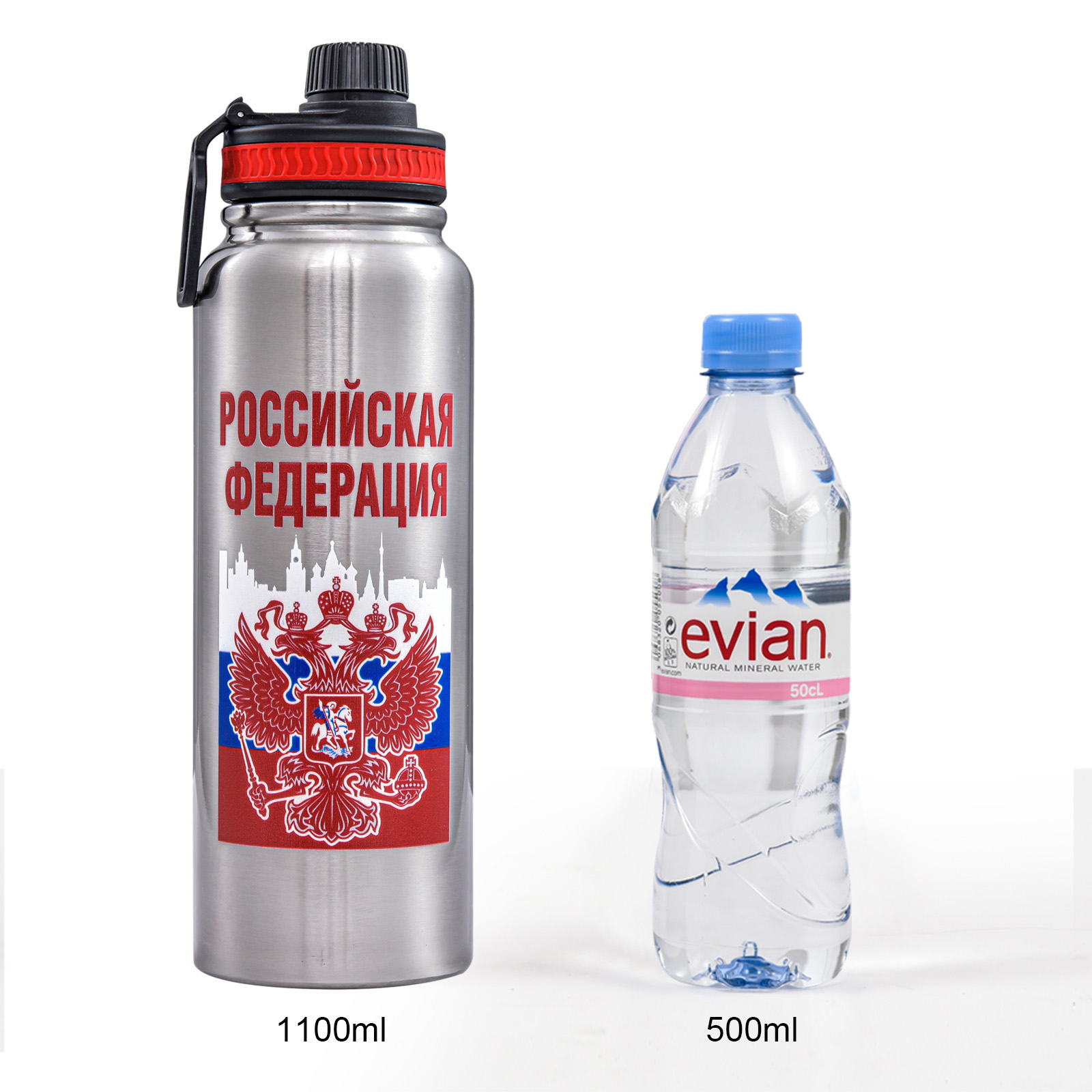 Термос Россия на 1,1 литра - оптимальный объем
