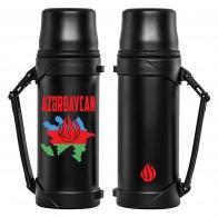 Термос с принтом Азербайджан