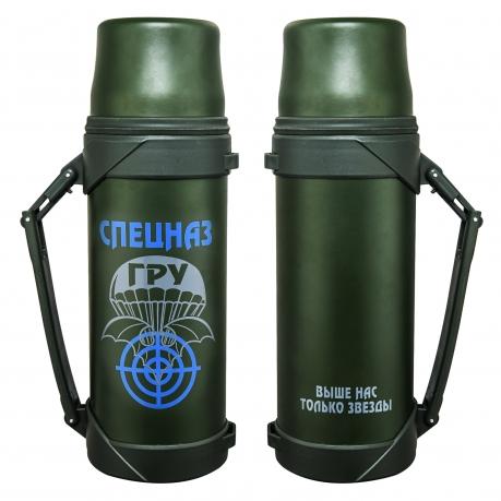 Термос с символикой спецназа ГРУ