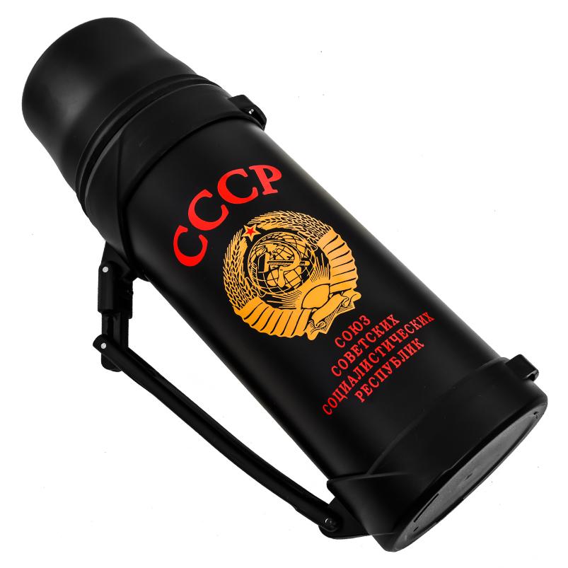 Купить в интернет магазине термос «СССР» нержавейка