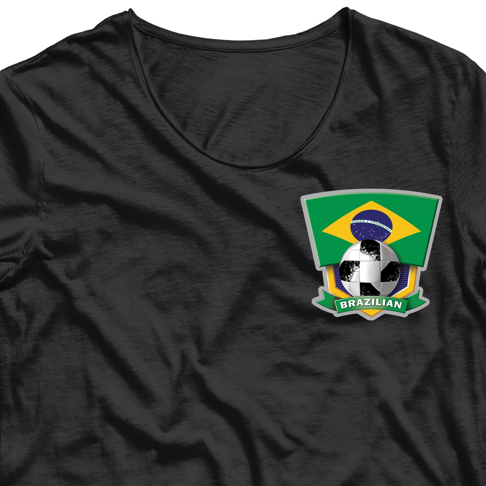Заказать термотрансфер болельщику BRAZILIAN по выгодной цене