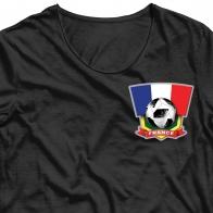 Термотрансфер на футболку Франция