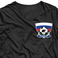 Термотрансфер на футболку Россия