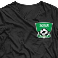 Термотрансфер на футболку Саудовская Аравия