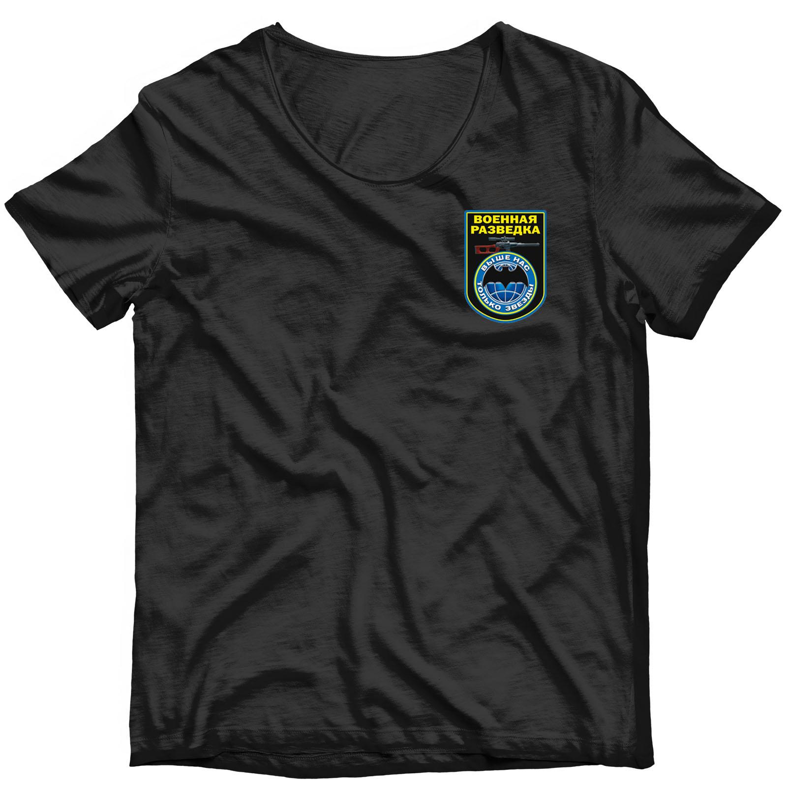 Термотрансфер на одежду Военная разведка