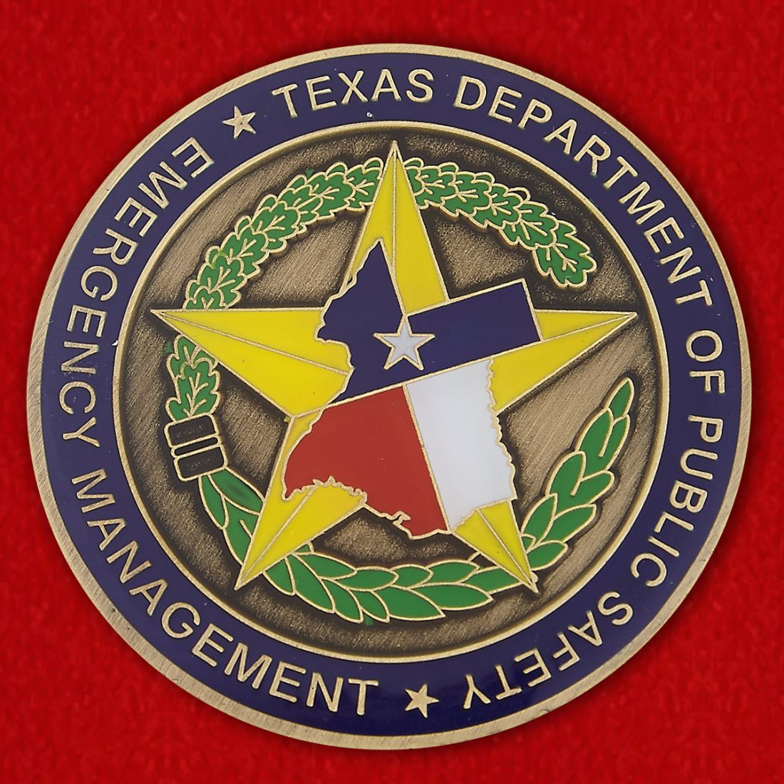 Texas Department of Public Safetty Challenge Coin