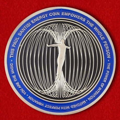 The Paul Santisi Intention Energy Challenge Coin