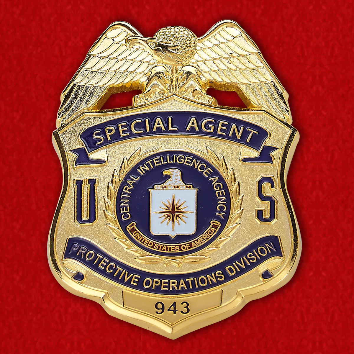 CIA Special Agent Badge