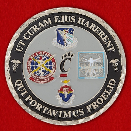 The University of Cincinnati Institute for Military Medicine Challenge Coin
