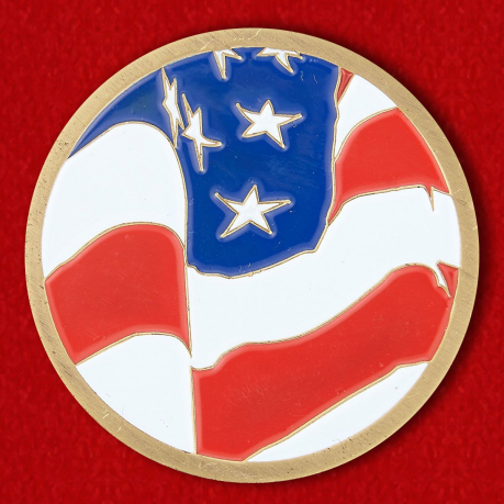 The US Consulate General in Yekaterinburg Challenge Coin