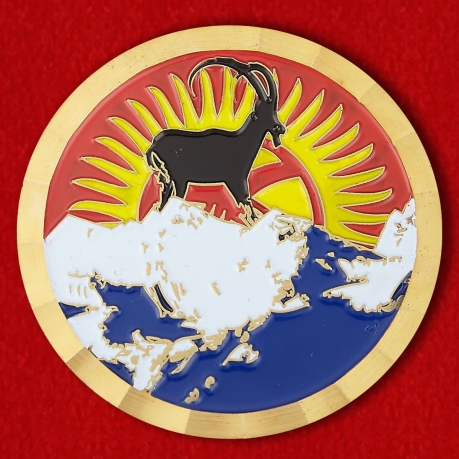 The US Embassy in Bishkek Challenge Coin