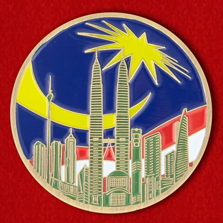 The US Embassy in Kuala Lumpur Challenge Coin