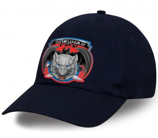 Только для Вас лучшее предложение от дизайнеров Военпро - темно-синяя кепка с авторским принтом «Спецназ ГРУ Волкодав». Количество ограничено, успей купить