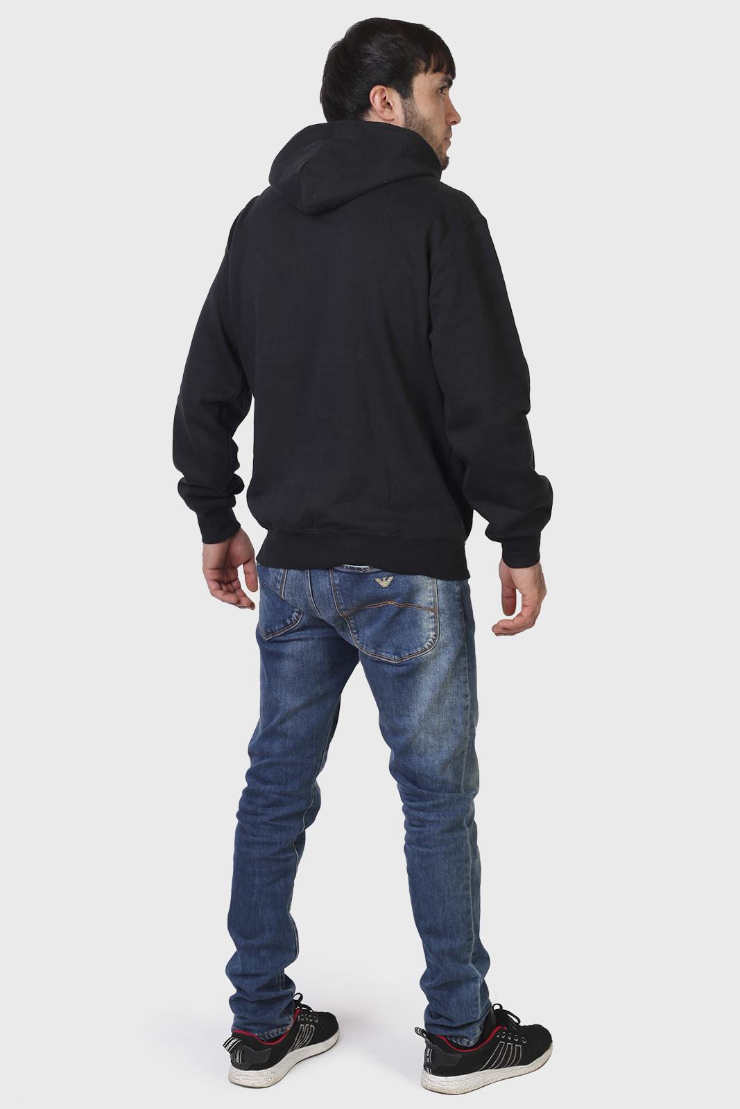 Черная мужская толстовка Browning с капюшоном