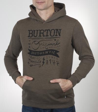 Толстовка Burton на каждый день. Отличное качество, выгодная цена