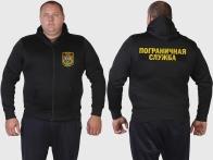 Военная мужская толстовка для пограничников.