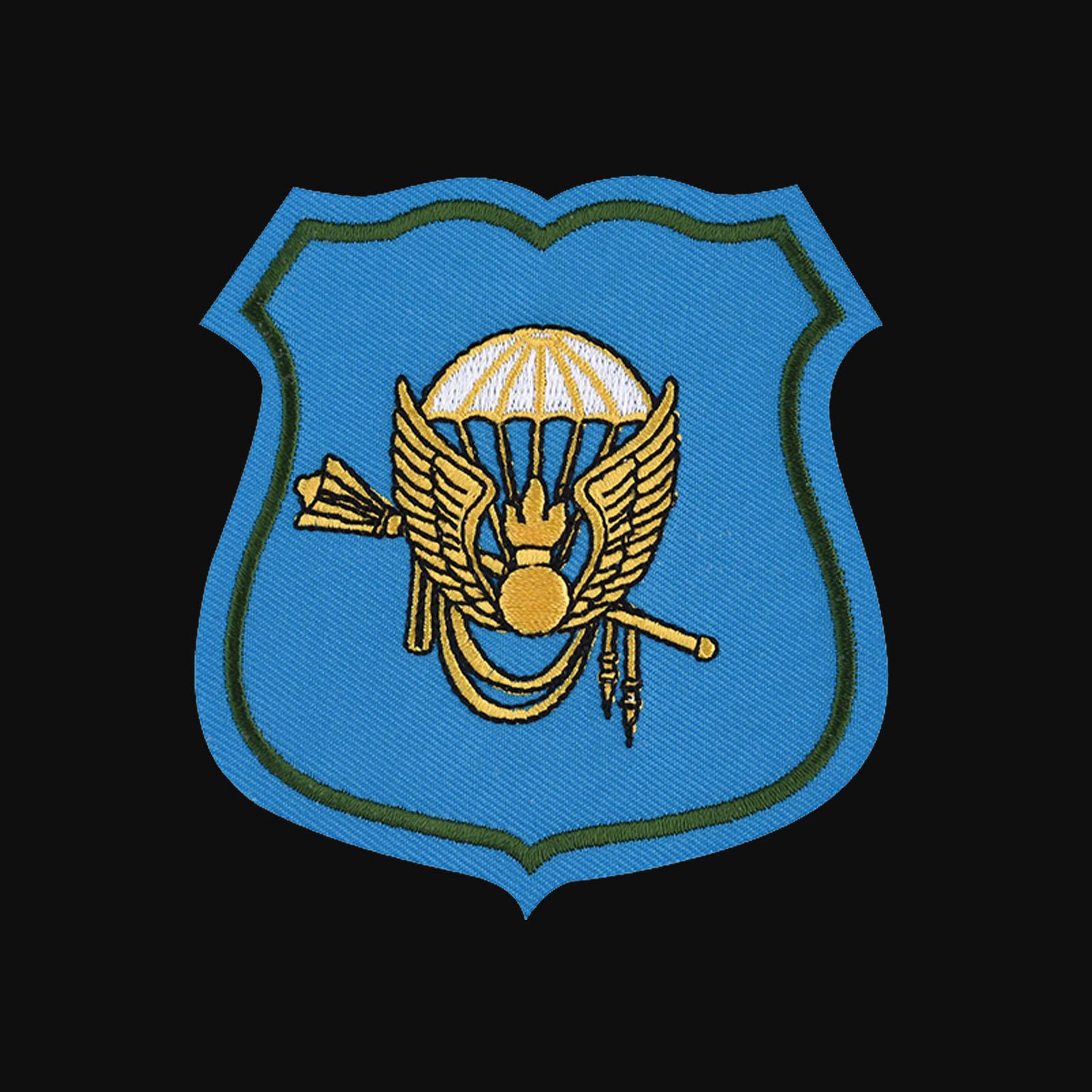 Мужская толстовка на молнии с эмблемой Командования ВДВ