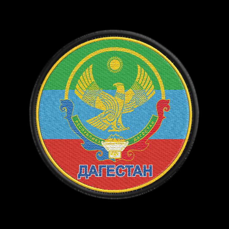 Патриотическая толстовка с символикой гордого Дагестана.