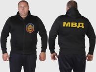 Эксклюзив! Мужская толстовка худи УГРО-МВД.