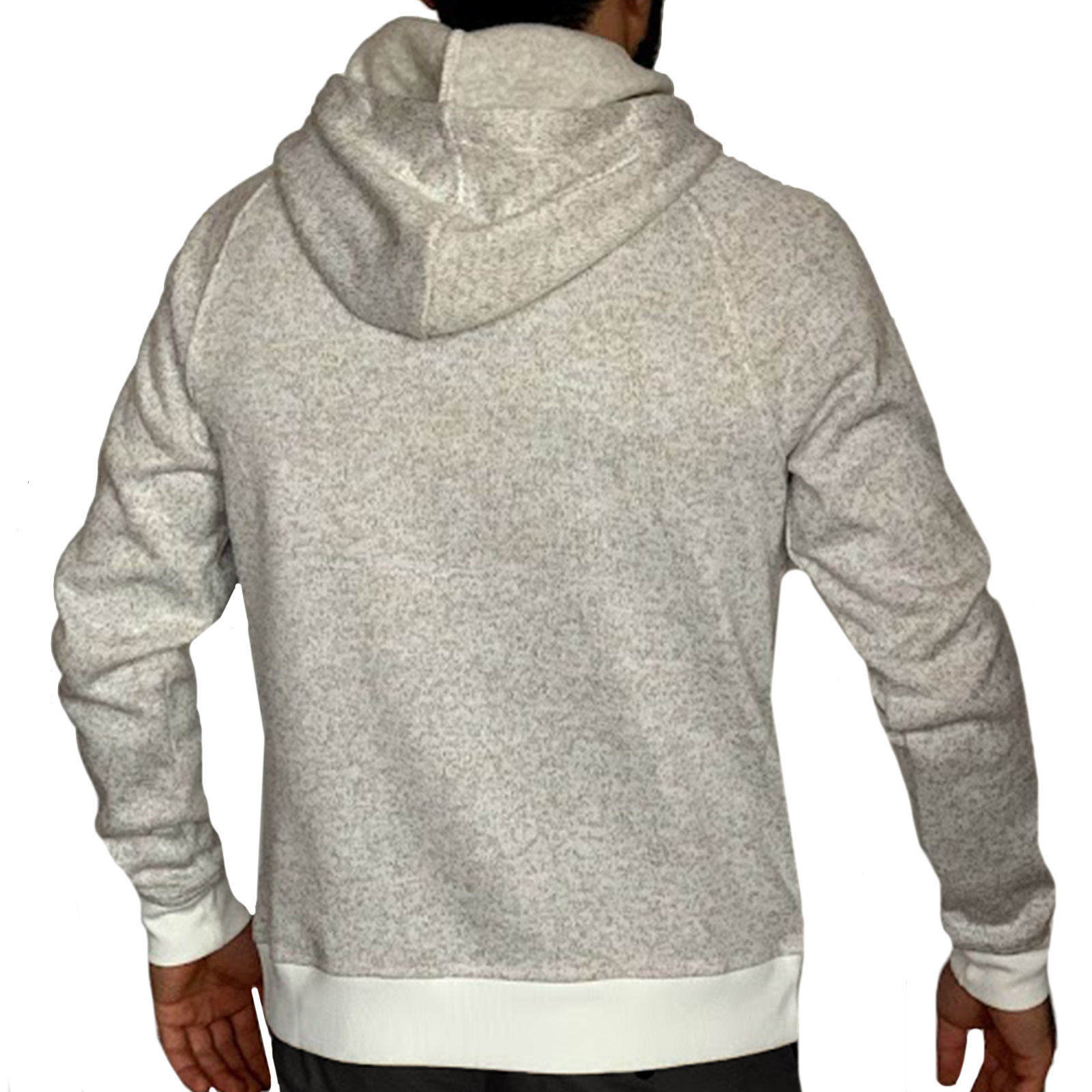 Купить в интернете мужскую кофту кенгуру с карманом и капюшоном