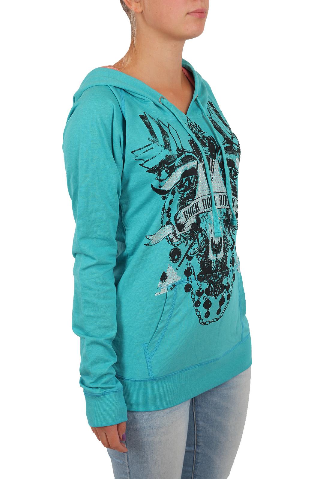 Женская толстовка кенгуру Rock and Roll Cowgirl. Модель осень-зима. В нашем интернет каталоге вы подберете готовый образ и вкусно сэкономите!