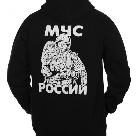 Толстовка МЧС России чёрная