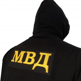 Толстовка МВД на молнии с капюшоном