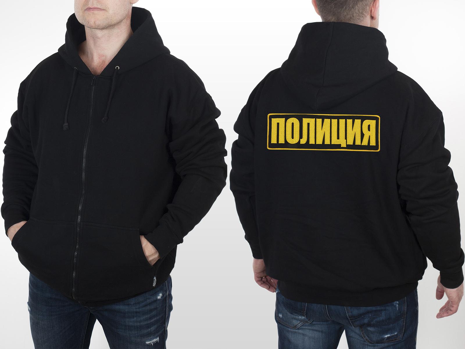 Толстовки для сотрудников полиции РФ