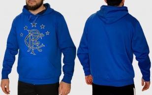 Синяя мужская кофта толстовка Rangers