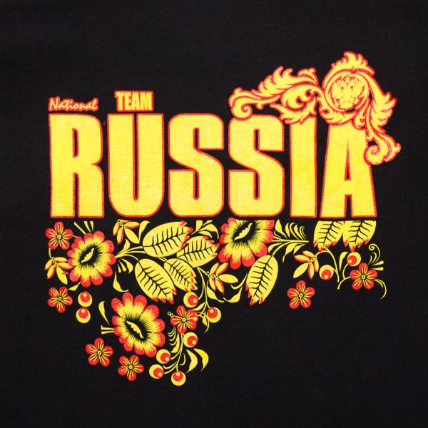 Толстовка RUSSIA чёрная