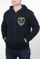 Мужская милитари толстовка с вышитой эмблемой Спецназа ГРУ