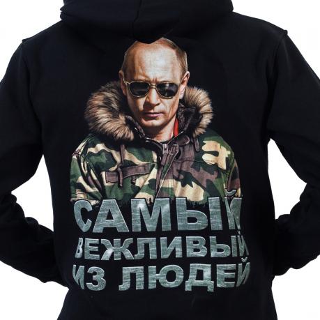 Толстовка с Путиным