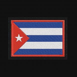 Толстовка с шевроном на груди Флаг Кубы купить выгодно