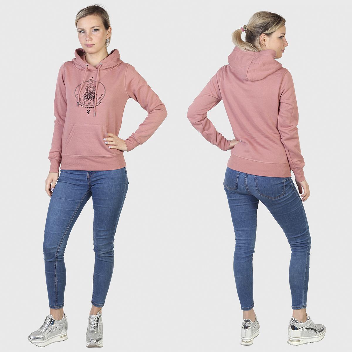 Купить в интернет магазине женскую толстовку Calvin Klein розового цвета