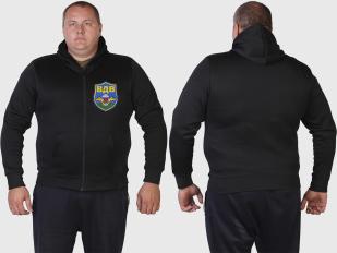 Эксклюзив для Десанта. Мужская черная толстовка ВДВ.