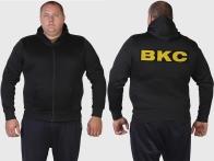 Милитари тренд! Мужская толстовка ВКС с карманами.