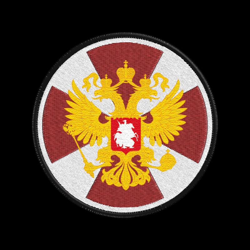 Военная толстовка с символикой Внутренних Войск России.