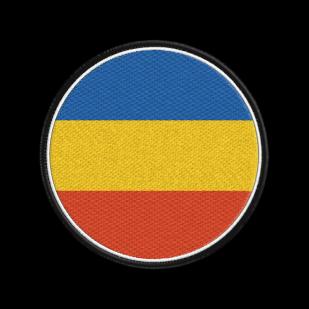 Стильная толстовка с флагом Всевеликого войска Донского.