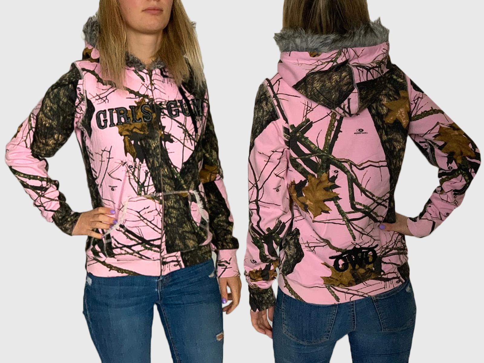 Женская милитари толстовка Girls with guns