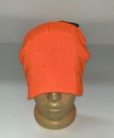 Тонкая ярко-оранжевая шапка